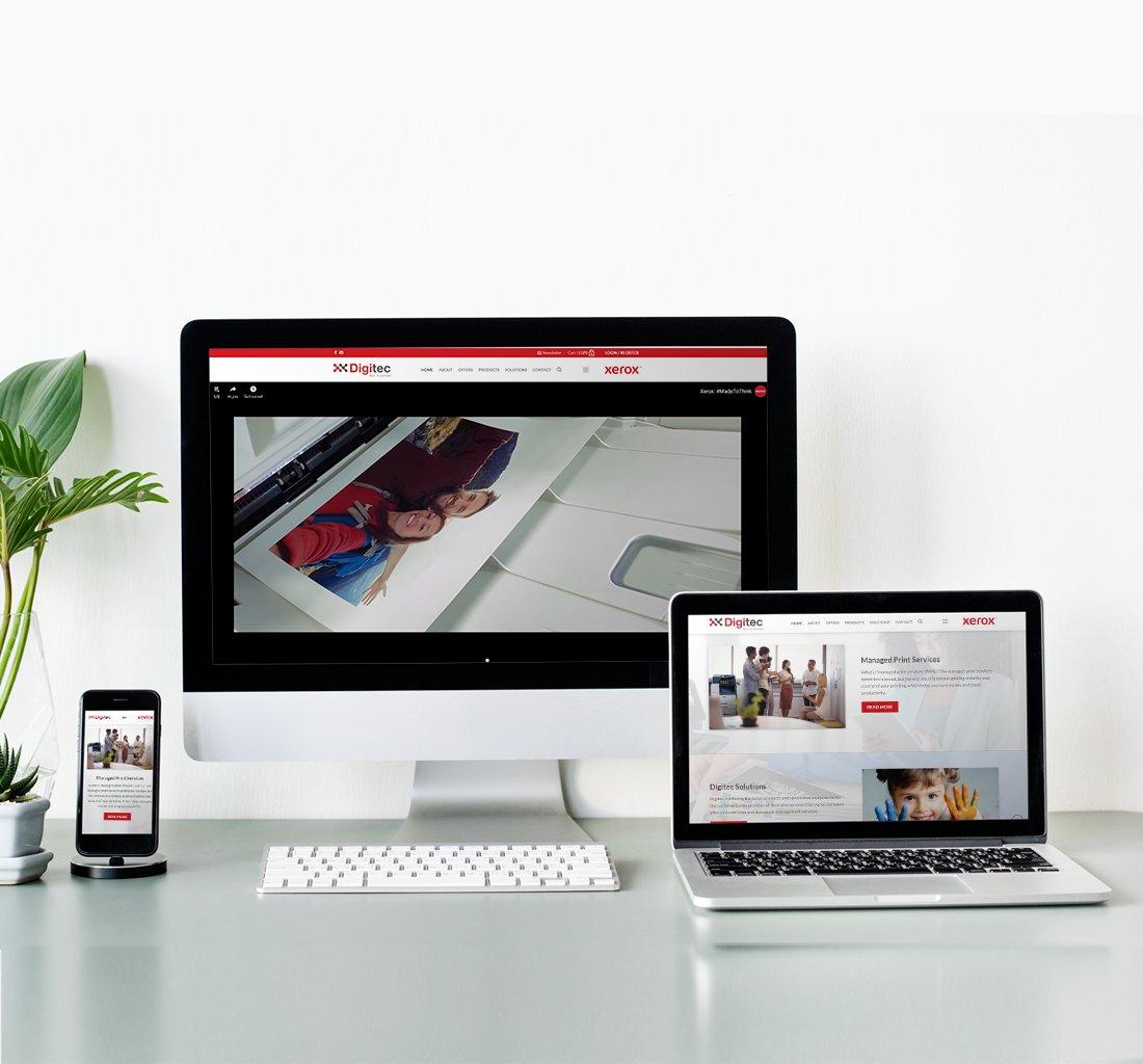 Alex Web Design, website development and mobile app development company clients in Egypt - Digitec Xerox