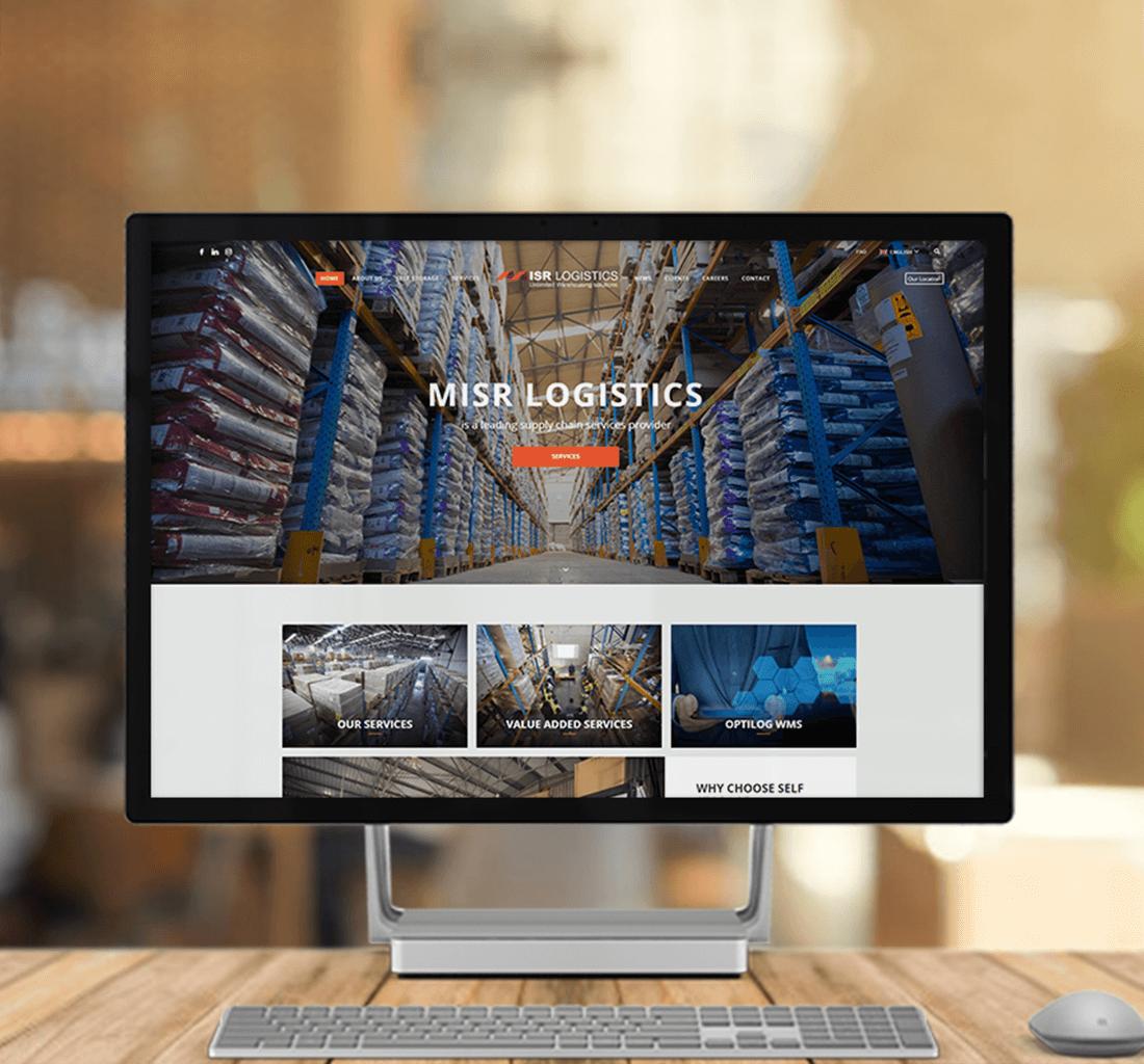 Alex Web Design, website development and mobile app development company clients in Egypt - Misr Logistec