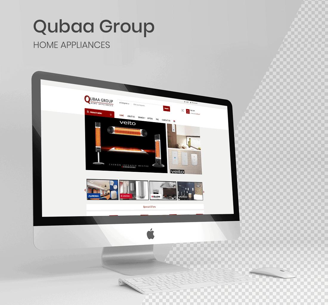 Alex Web Design, website development and mobile app development company clients in Egypt - Qubaa Group