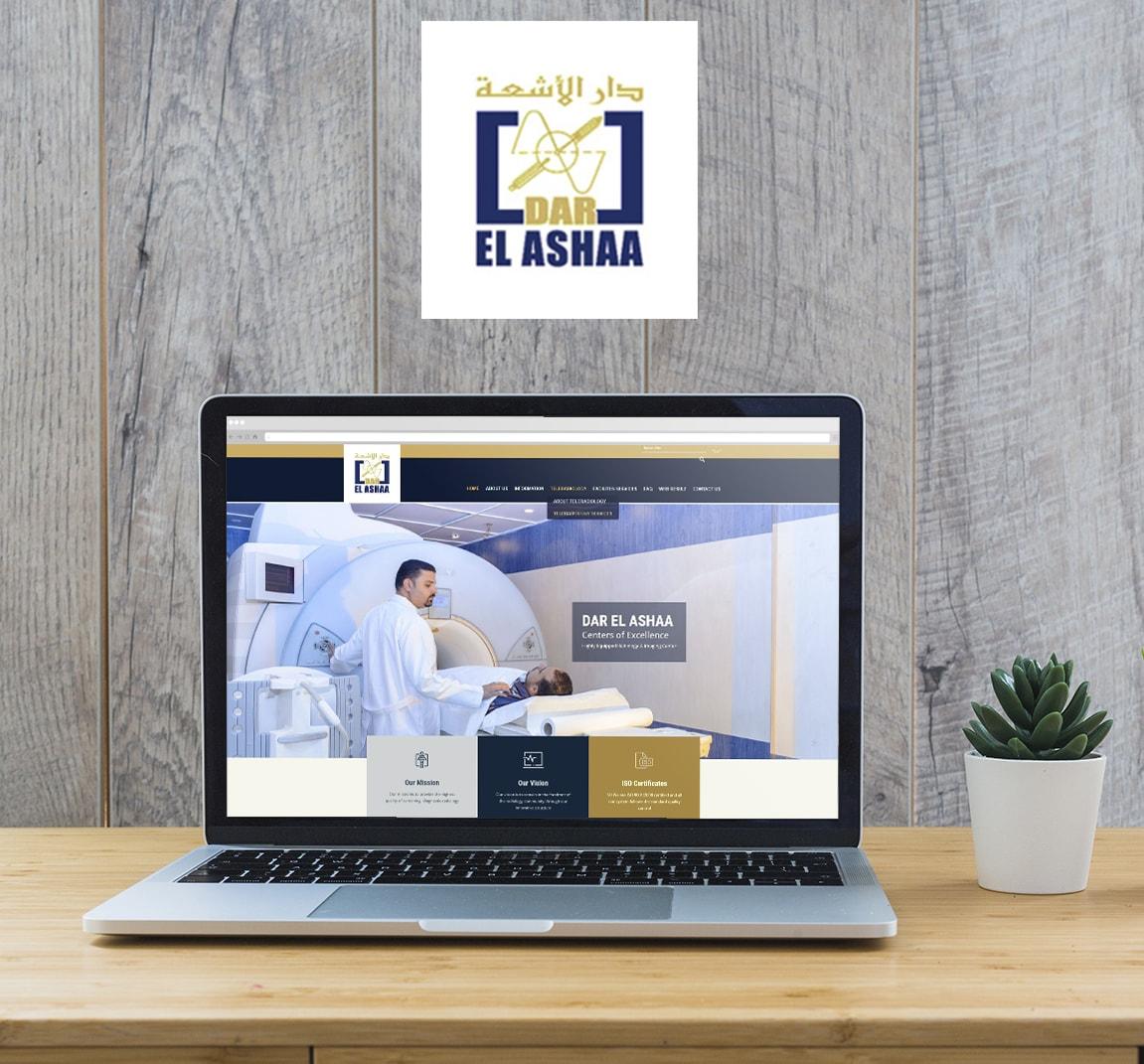 Alex Web Design, website development and mobile app development company clients in Egypt - Dar Elashaa