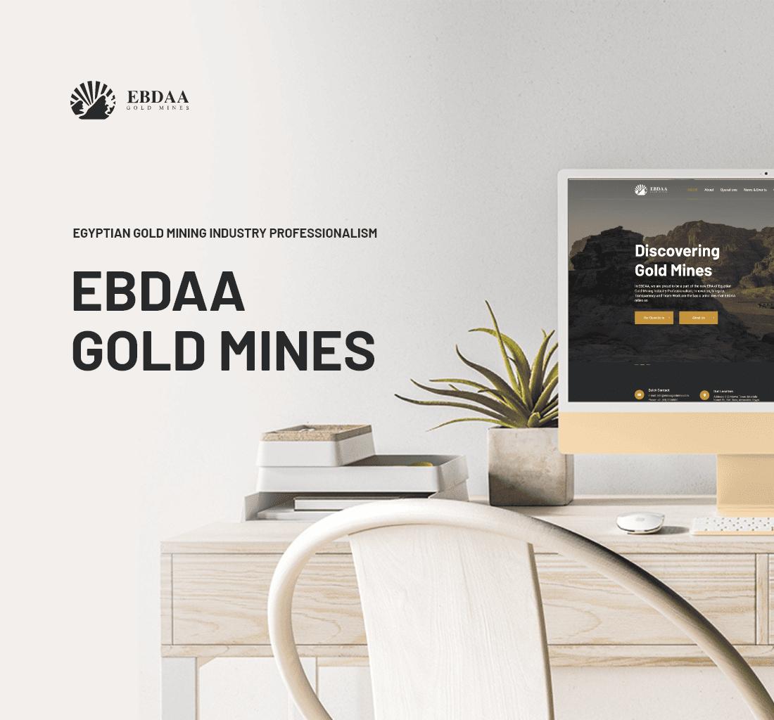 Alex Web Design, website development and mobile app development company clients in Egypt - Ebdaa Gold Mine