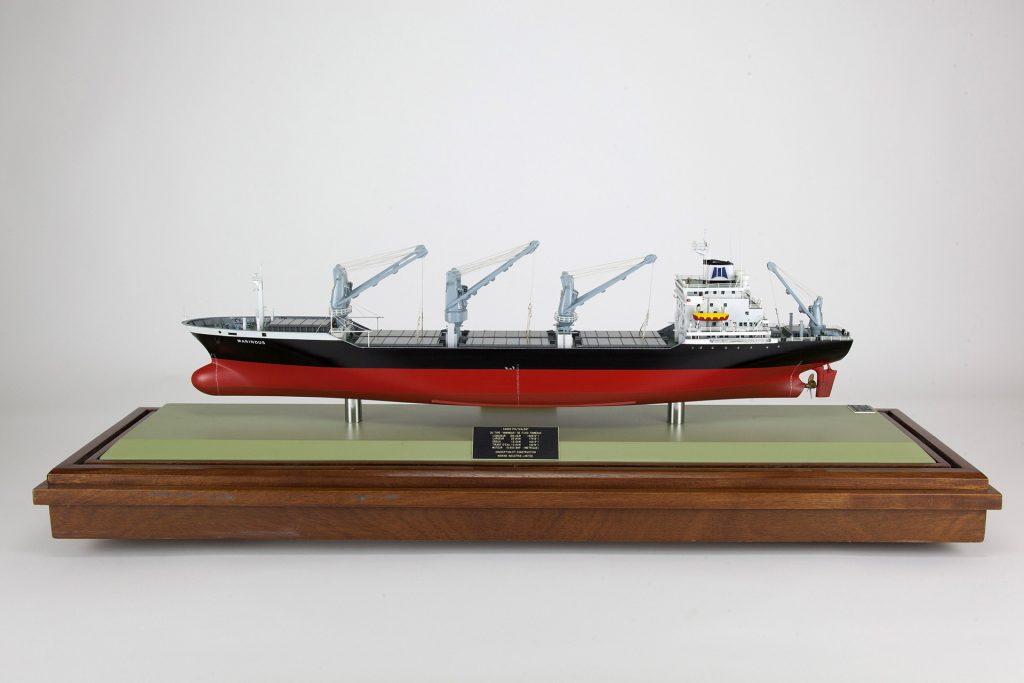 Maquette du cargo Marindus