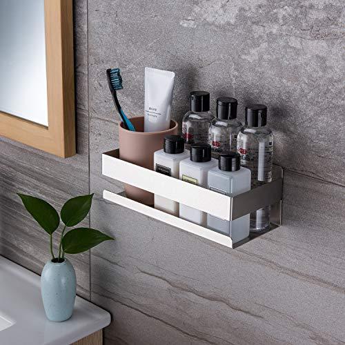 Ruicer Duschkorb Selbstklebender Duschregal Ohne Bohren Duschablage für Badezimmer - 5
