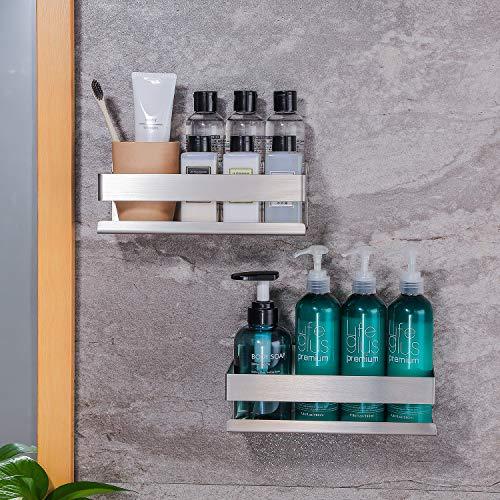 Ruicer Duschkorb Selbstklebender Duschregal Ohne Bohren Duschablage für Badezimmer - 3