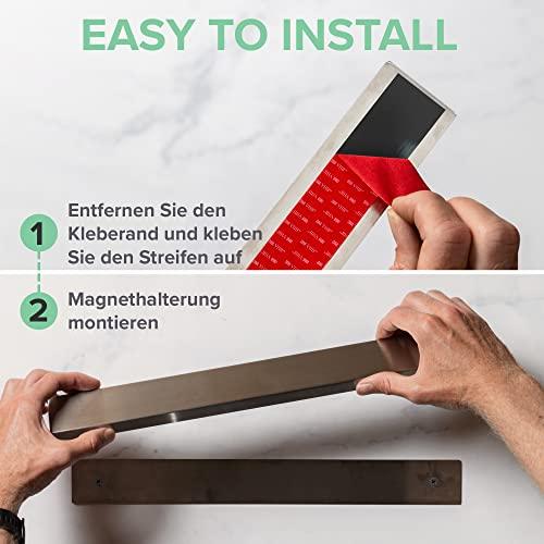 Coninx Edelstahl Messerhalter/Magnetleiste - 7
