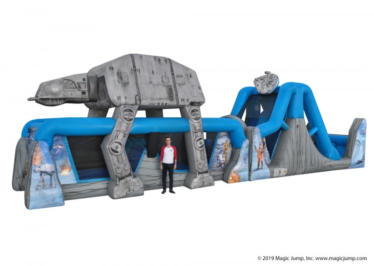 Star Wars 50 Foot Water Obstacle