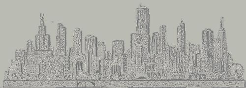 Sketch of Chicago Skyline