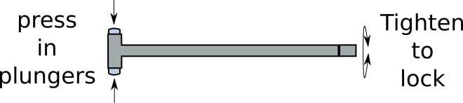 how a telescoping gauge works