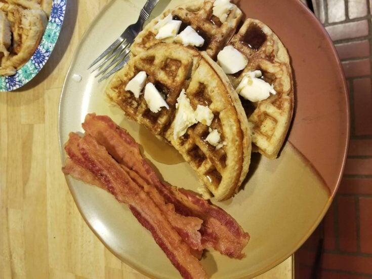 keto dairy-free gluten-free waffles