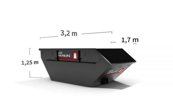 Absetzcontainer Bauschutt 5 m³