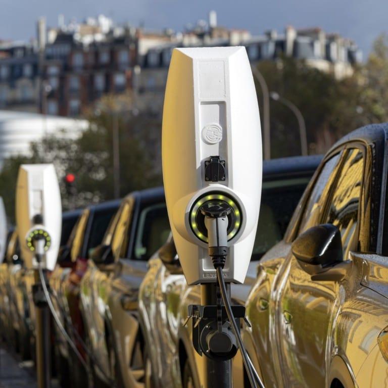 EV charging networks management