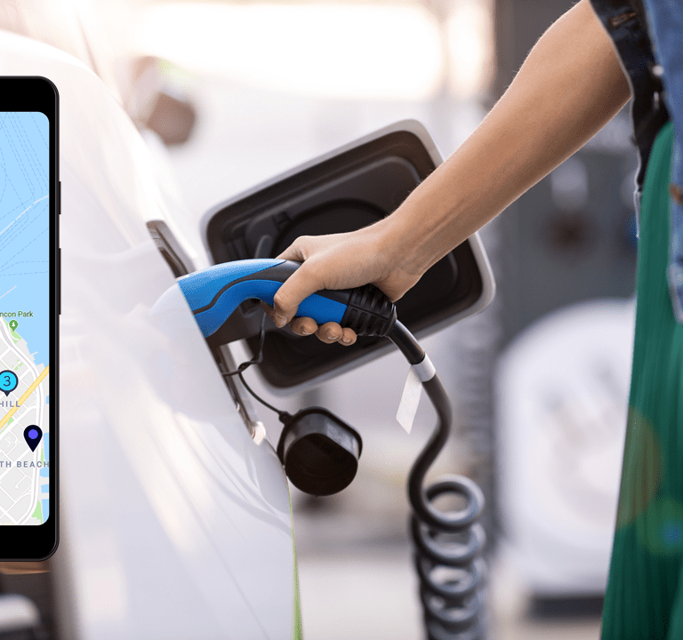EV charging app Driivz