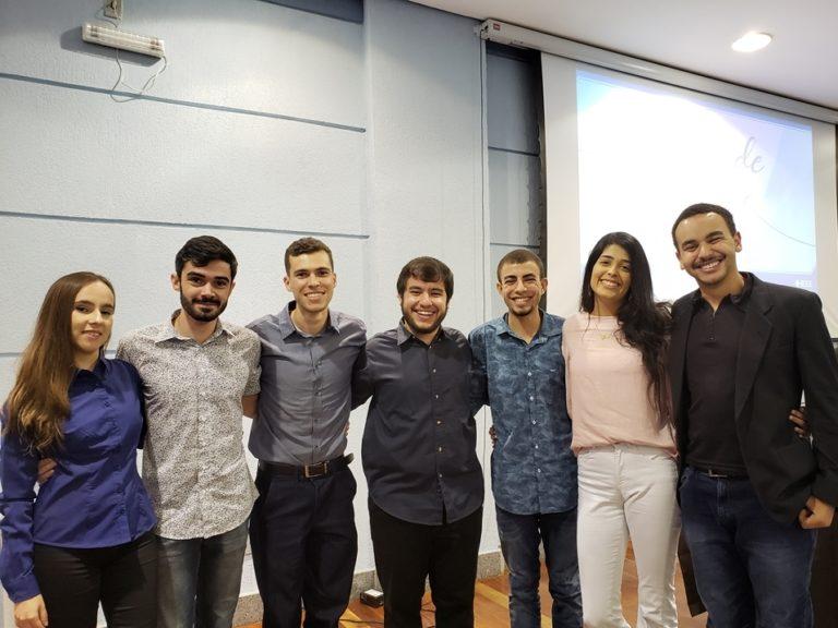 Equipe IEEE IAS UFJF na Troca de Gestão 2019/2020.