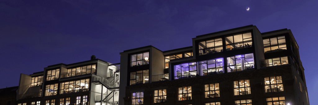Factory Berlin Spaces: Mitte at night