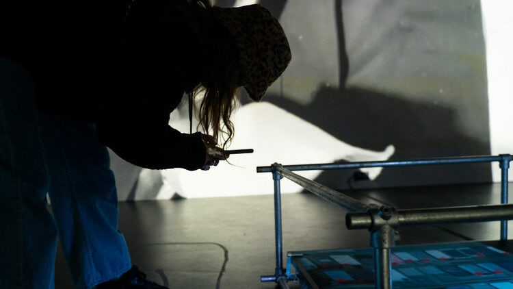 Factory Berlin Artists in Residence Ania Catherine & Dejha Ti - By Appointment Only, 'I'd rather be in dark silence than' 7