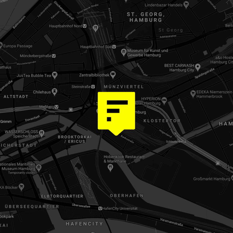 Factory Hammerbrooklyn Map