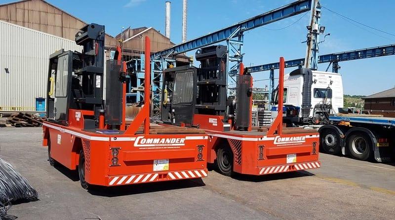 Commander Sideloaders Custom made in Yorkshire for Ability Handling