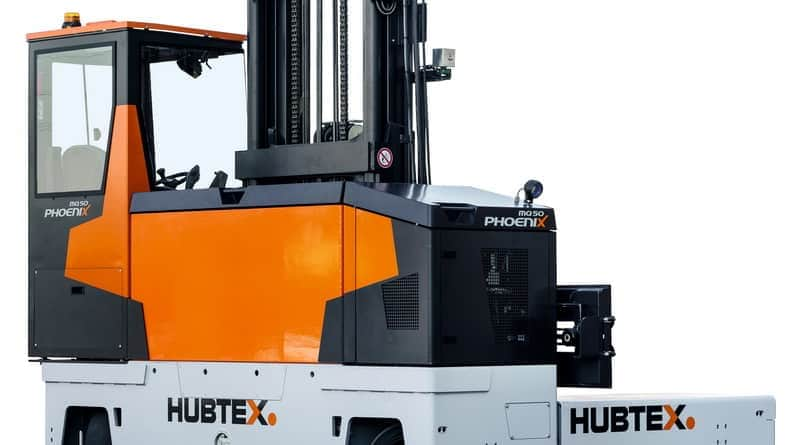 Hubtex to Launch PhoeniX Sideloaders at Ligna 2019