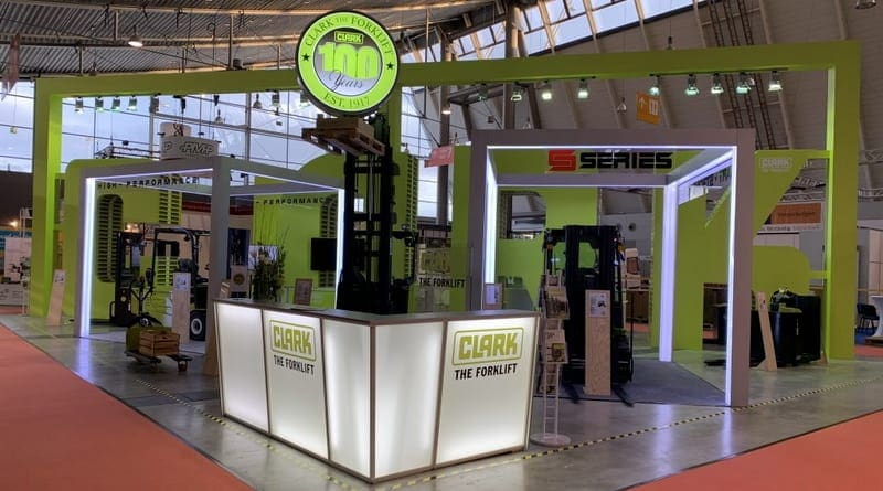 Electric Forklifts to Highlight Clark Europe LogiMAT Stand