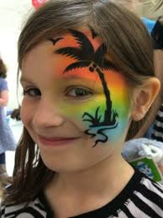 Airbrush Face Paint