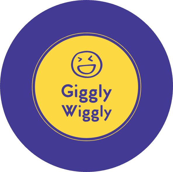 Balloon twisting! Giggly Wiggly Balloons Logo