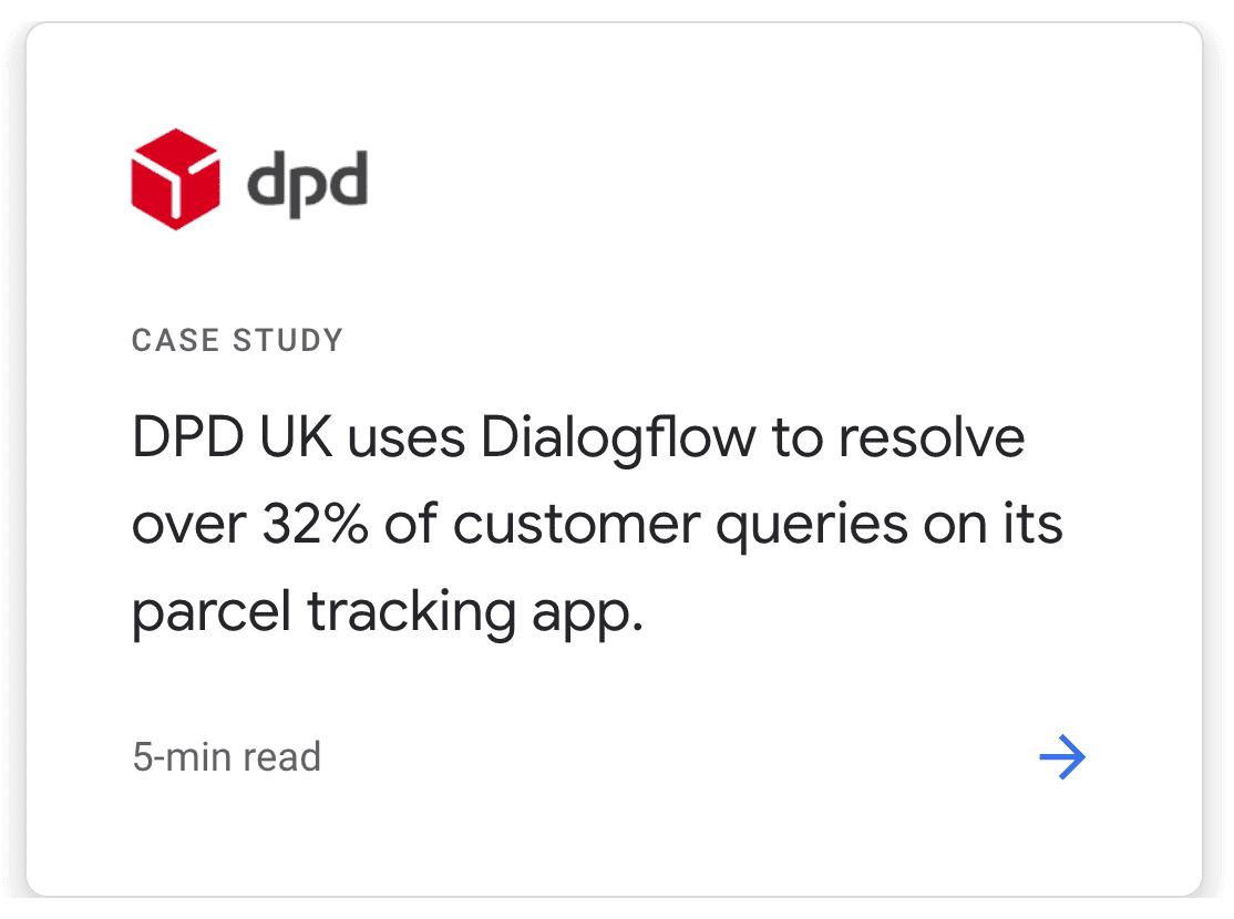 Customer Story on Google Dialogflow's website. Retrieved 20 April 2021