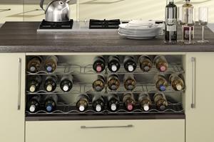 Chrome Wine Rack
