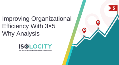 Improving Organizational Efficiency With 3x5 Why Analysis