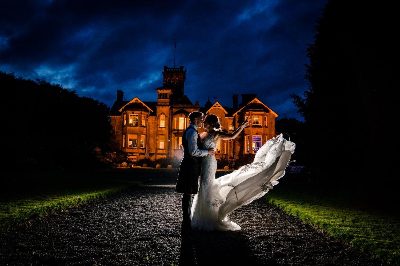 auchen castle summer wedding