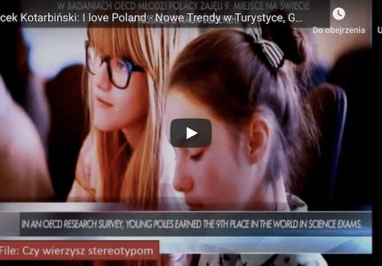 Jacek Kotarbiński: Ilove Poland – Nowe Trendy wTurystyce, Gdańsk 2017