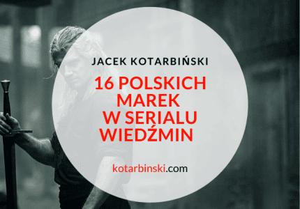 16 polskich marek wWiedźminie