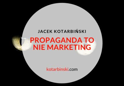 Propaganda toniemarketing