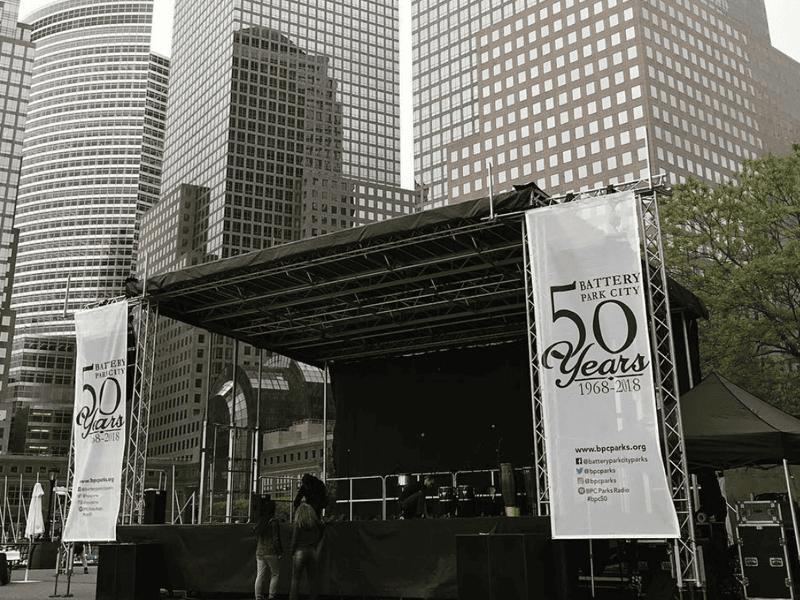 Mobile Stage Rental, NY, NY