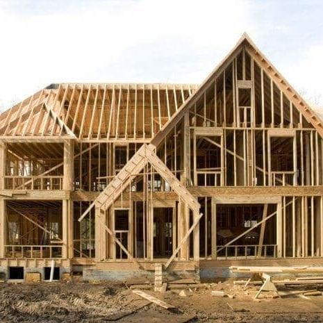 Wood House Framing