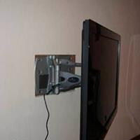 Установка телевизора фото