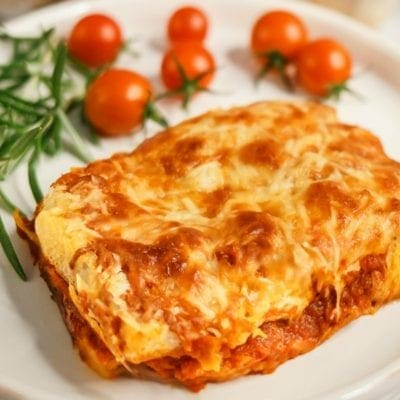 No-Boil Grilled Cheese Lasagna
