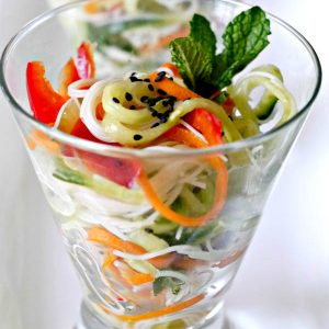 Gluten-Free Vietnamese Rice Noodle Salad