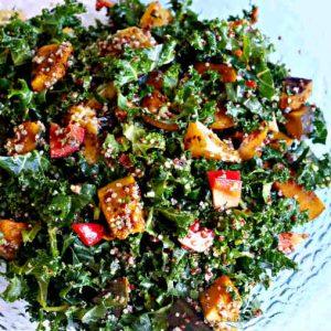 Kale and Kabocha Power Bowl