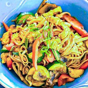 Gluten-Free Singapore Noodles