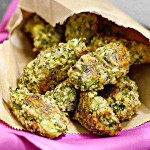 Gluten-Free Baked Broccoli Tots