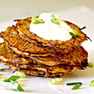 Baked Potato Pancake – Easy Recipe