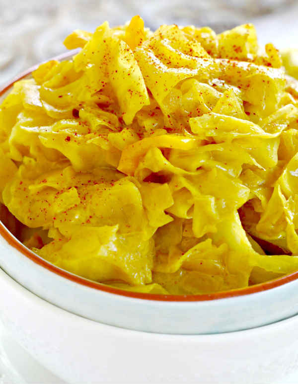Simple Curried Cabbage Recipe
