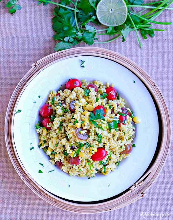 Gluten Free Curried Rice Salad Recipe