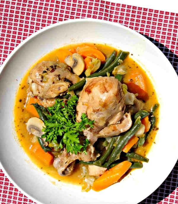 One-Pot Summer Chicken Stew