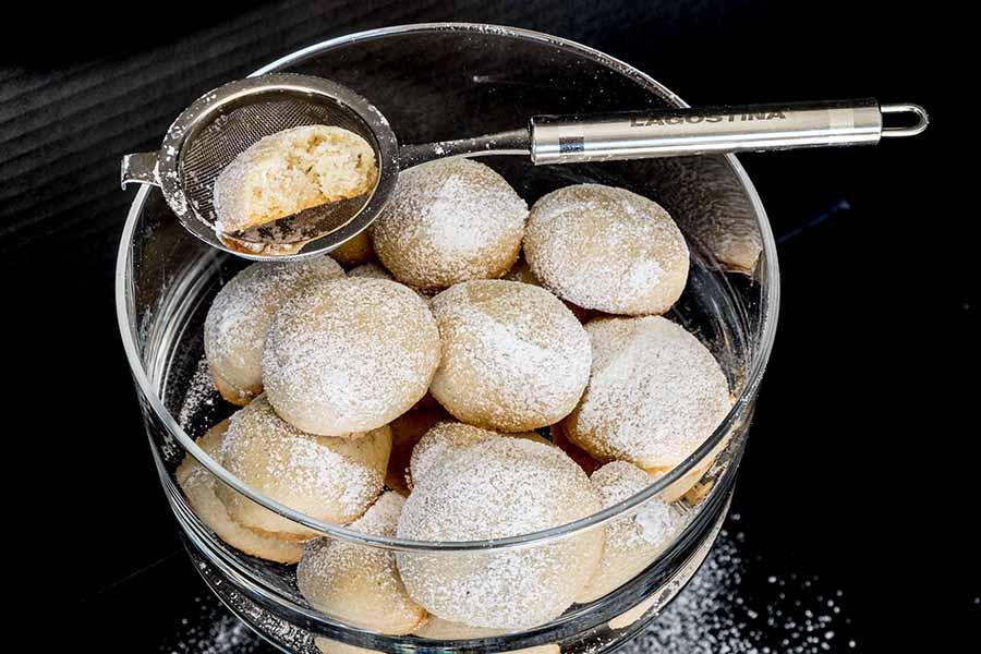 Gluten Free Vanilla Shortbread Cookies