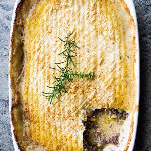Gluten Free Classic Shepherd's Pie Recipe