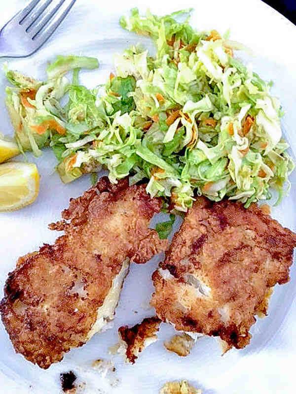 Gluten Free English Crispy Fried Fish