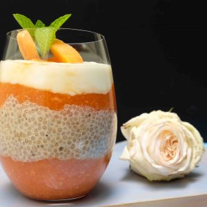 Immune Boosting Papaya Chia Breakfast Pudding