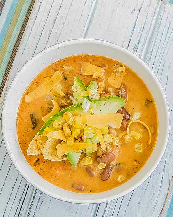 Santa Fe Chicken Soup – Gluten Free