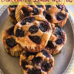 Gluten-Free Keto Blackberry Lemon Muffins – Revised Recipe